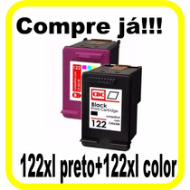 Cartucho Cdc Hp 122xl Preto + 122xl Color   Ch563hb+ch564hb
