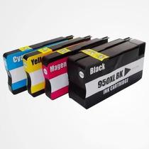 4 Cartuchos Hp 950/951 Novos Pro 8100 Pro 8600 Frete Baixo!