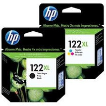 Cartucho 122xl Color E Black Hp Original Novo E Lacrado