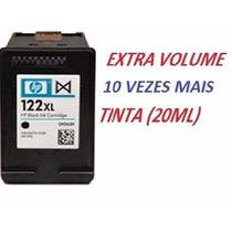 Lote 2 Cartucho Hp 122xl 20ml +1 Cartucho 122 Color 15 Ml