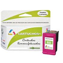 Kit Cartucho Hp 60xl Preto + Xl Color Original Frete Gratis