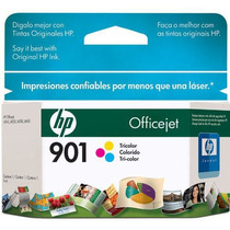 Cartucho Hp901 Officejet Jato Tricolor Cc656ab Mania Virtual