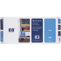Hp 83 C4961a Uv Cabeçote E Cabeçote De Impressão Cleaner Par