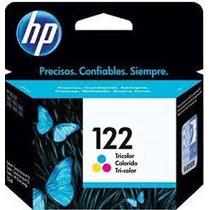 Cartucho Hp 122 Colorido Tricolor Original 2ml Ch562hb Lacra