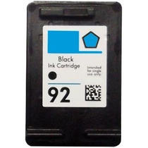 Cartucho Hp 92 Preto Compativel | C9362wb C3180 Psc1510