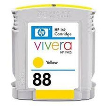Cartucho Hp 88 Amarelo Vazio Original