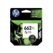 Cartucho Hp Cz106ab(662xl) 8ml Color Original