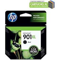 Cartucho Hp 901xl Preto Cc654ab Hp Cx 1 Un Original, Novo