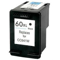 Cartucho Hp 60 Xl Preto Cc641w Compatível C4780 D1660 F2480