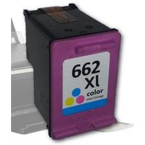 Cartucho Tinta Hp 662xl Colorido Cz106al Compatível 1516