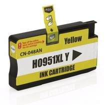 Cartucho Hp Officejet 8100 Pro 8600 951 Xl Yellow Compatível