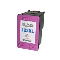 Cartucho Hp 122xl Colorido Ch564hb Compatível 1000 Tri-color