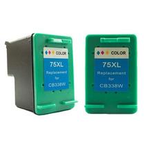 Cartucho Compatível Hp 75 Xl Colorido 17ml