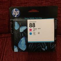 Cabeça De Impressão Hp 88 Magenta Com Cyan C9382a