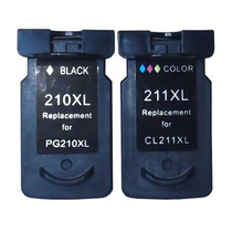Cartucho 210 + 211 Xl Ip2700 Mp240 Mp250 Mp260 Mp270