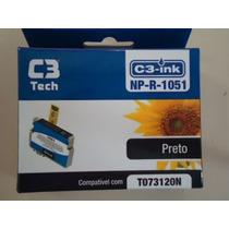 Cartucho C3 Tech Compatível Epson Mod Np-r-1051 Preto