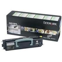Toner Laser Lexmark 34018hl