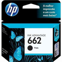 Cartucho Hp 662 Preto Original Impressora Hp 3516 2516 2546