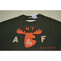 Abercrombie And Fitch A&f - Moleton - G - Original