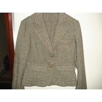 Blaiser Da Zara Tipo Spencer Em Lã Tweed Tam M