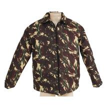 Jaqueta Nomura Em Tactel Camuflado Exército, Forrado E Bolso