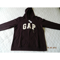 Moleton Gap Feminino C/ Capuz Tamanho X L - Original Gap
