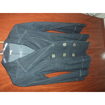 Jaqueta\ Casaco Jeans Escuro, Super Elegante