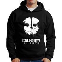 Moletom Call Of Duty Ghost Blusa Jogo Call Of Duty Ghost