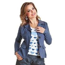 Blazer Azul Jeans Super Versátil = 49,90 !!!!!!!!!!!!