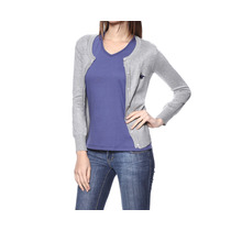 Cardigan Feminino Gmt Cinza - Club Polo Collection