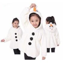 Casaco Olaf/ Frozen Infantil 2 A 8 Anos, Pronta Entrega, Imp