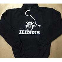 Promoção Blusa De Frio Moleton Kings Macaco -casaco C/ Capuz