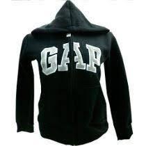 Incrivel Blusa De Frio Casaco Moleton Gap Feminino C/ziper