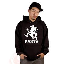 Blusa Rasta (reggae) Moletom Canguru