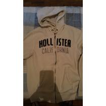 Moletom/moleton Hollister (g) Branc(abercrombie,ralph,tommy)