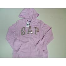 Blusa Moleton Gap Infantil Feminina Original - Frete Grátis