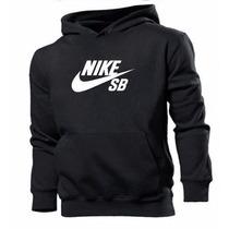 Blusa Moleton Nike Sb Customizada 100% Algodão Frete Grátis
