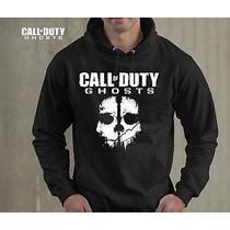 Blusa Call Of Duty Ghosts Moletom Canguru - Promoção !!!