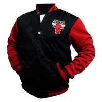Jaqueta Chicago Bulls Hip-hop Varsity College Baseball