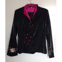 Blazer/casaco Japonês Em Cetim