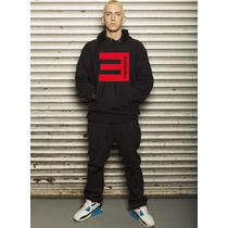 Blusa Eminem Moletom Canguru - Pronta Entrega!