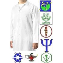 Jaleco Masculino Personalizado - Logomarca Bordado Gratis