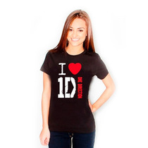 Camiseta I Love One Direction A Melhor Do Mercado!