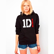 Blusa One Direction Moletom Canguru - Exclusivas !!!