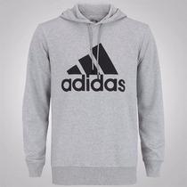 Moletom/blusa/jaqueta Adidas Masculino C/ Capuz - Original