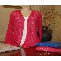 Blusa Casaco Sobretudo Cardigan Trico Renda Lã Frio Inverno