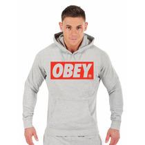 Blusa Obey Moletom Canguru Personalizada Promoção A Melhor