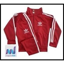Agasalho Adidas Infantil V.cores Moleton M/f 12xs/juros