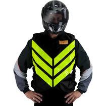 Colete De Segurança Alta Visibilidade Motoqueiro Moto Taxi