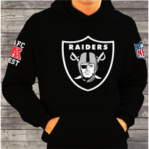 Moletom Canguru Oakland Raiders Nfl